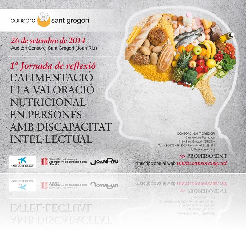 1ª Jornada de Reflexió:  L'alimentació i la valoració nutricional en persones amb discapacitat intel.lectual.
