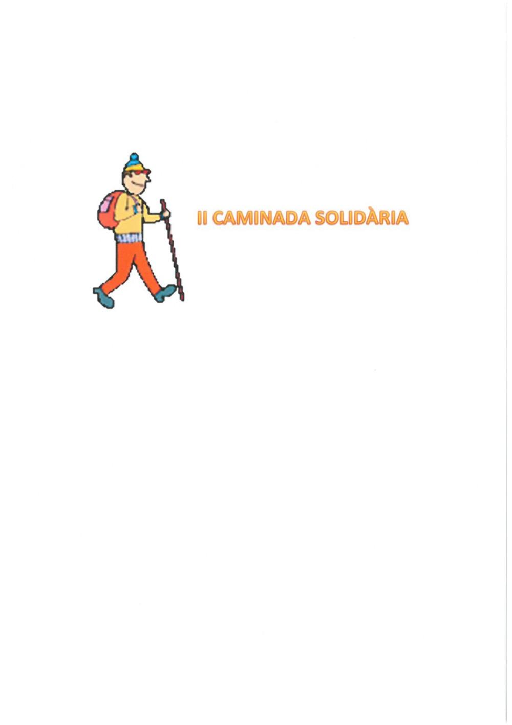 AJORNAMENT II CAMINADA SOLIDÀRIA