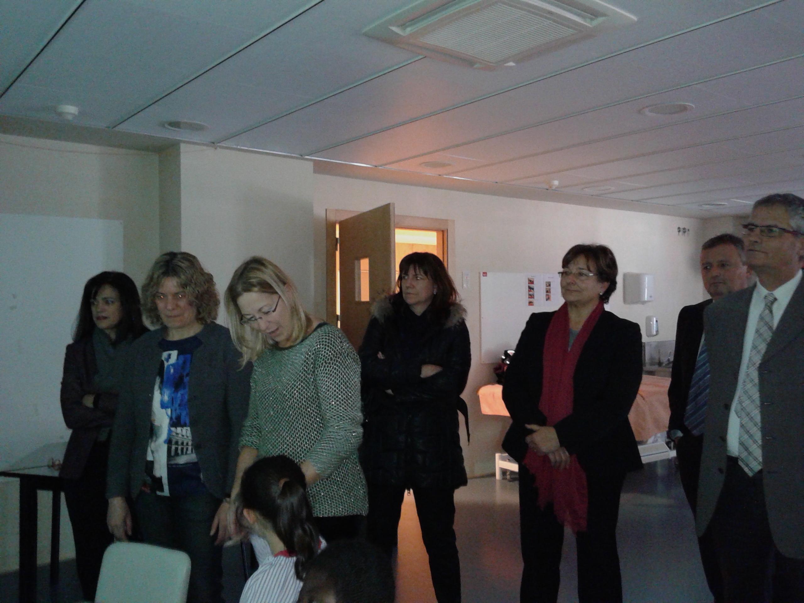 Visita de la Honorable Consellera Sra. Neus Munté a l'Escola i Residència Infantil Joan Riu