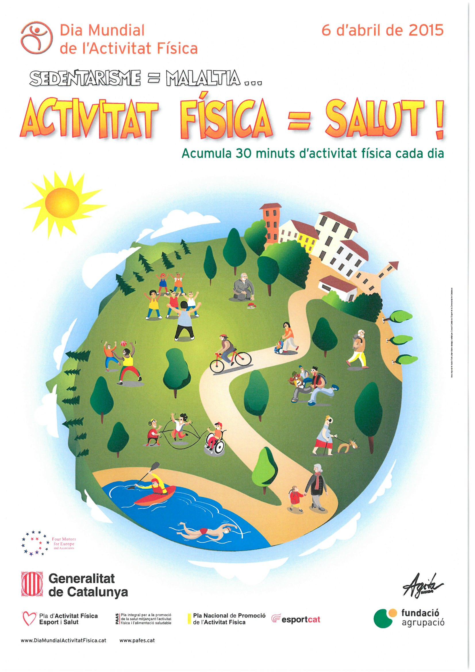 El Consorci Sant  Gregori celebra el   Dia Mundial de l´Activitat Física.