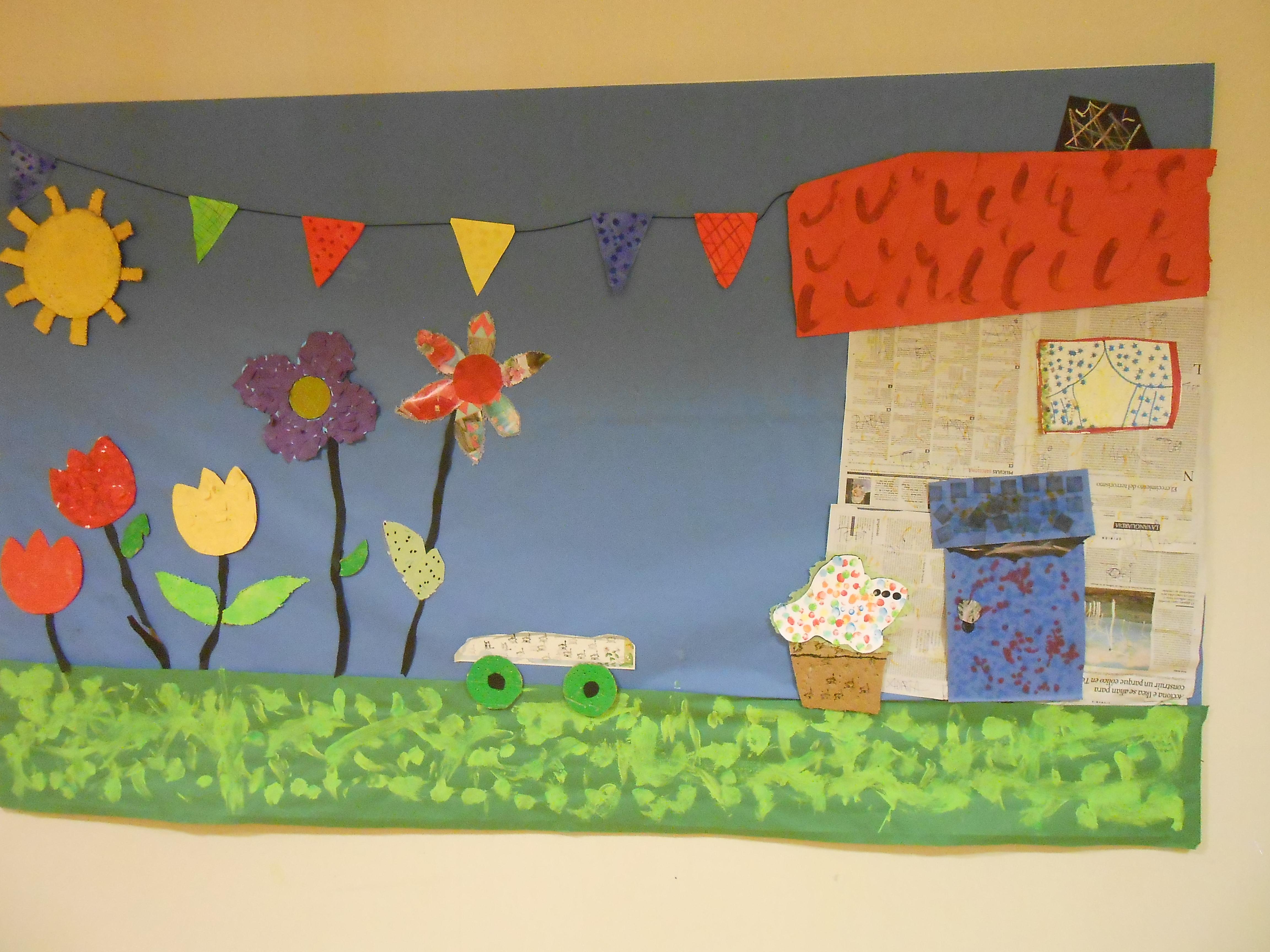 Temps de Flors a l'escola Joan Riu