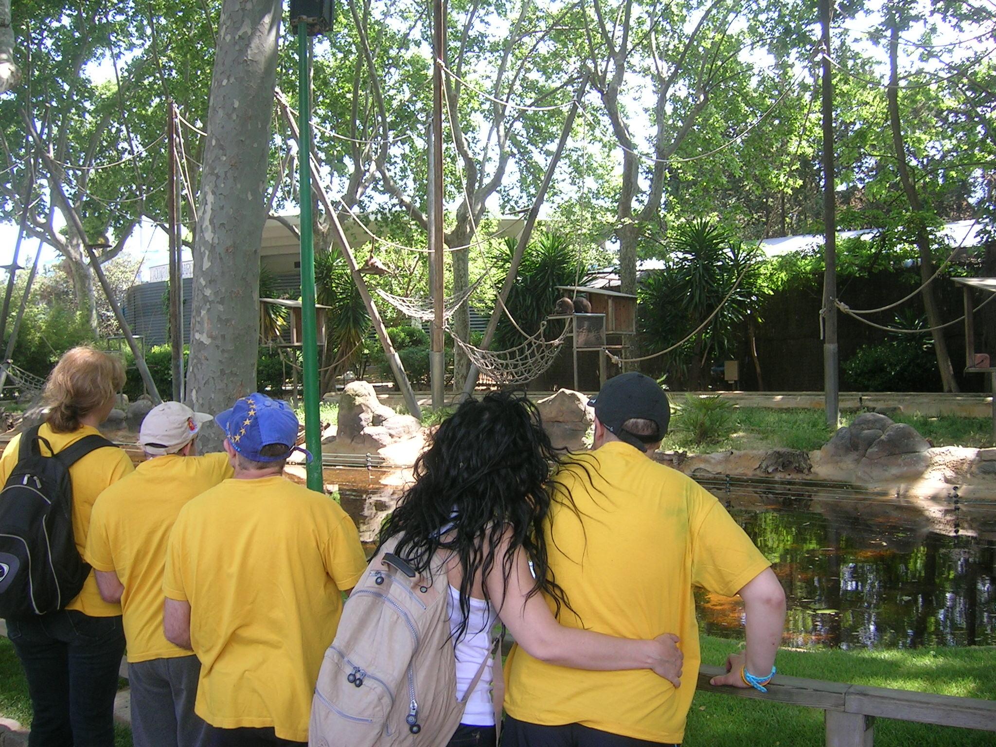 Sortida al zoo a Barcelona