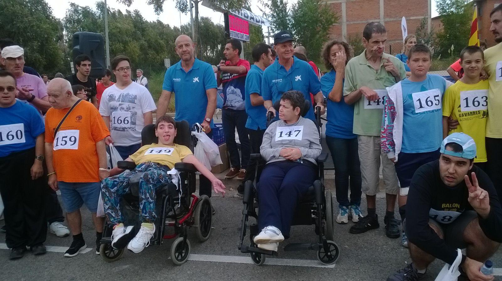 Participació el dissabte 26 de setembre a la Milla Solidària a Banyoles