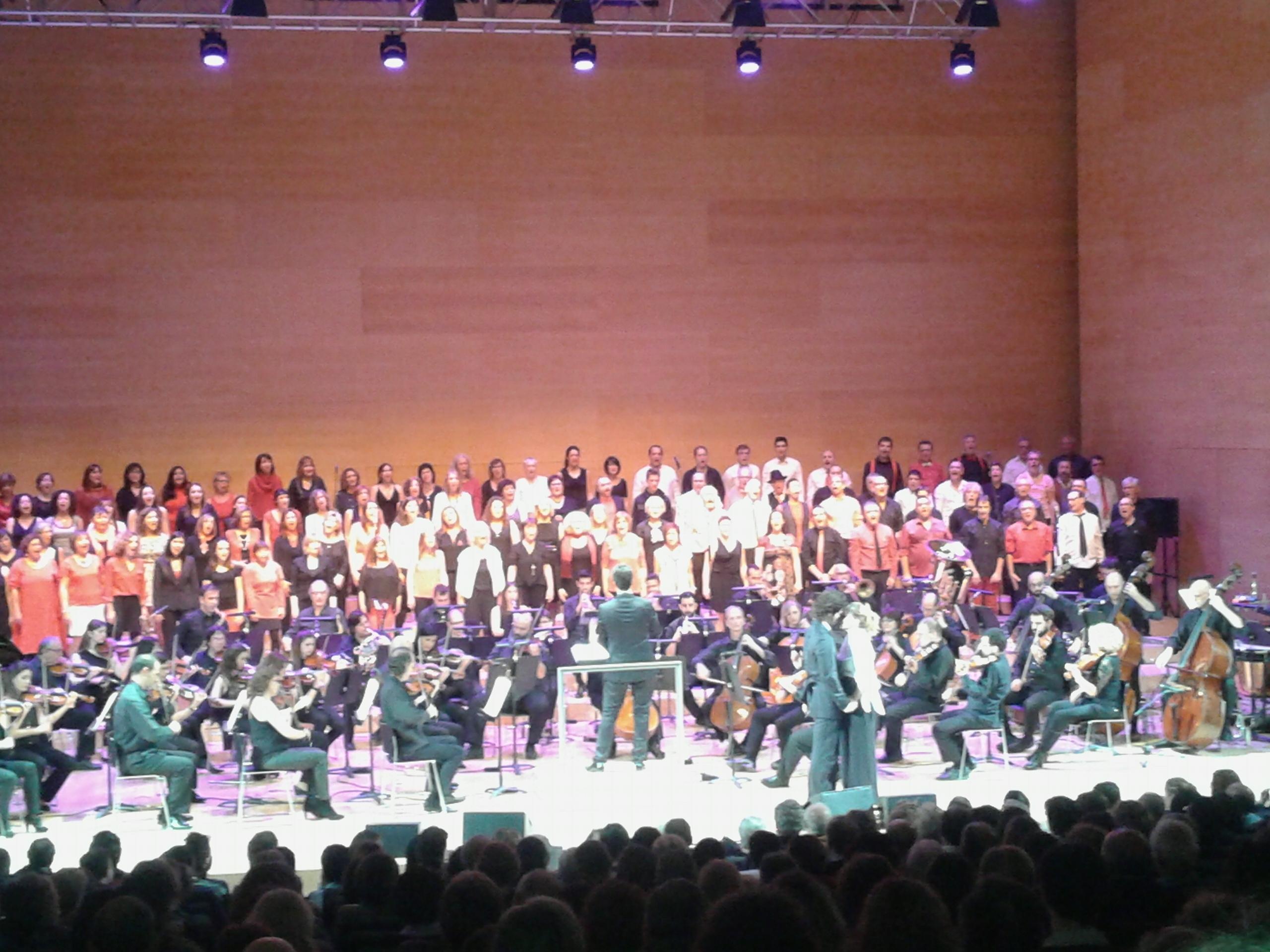 De concert a l'auditori