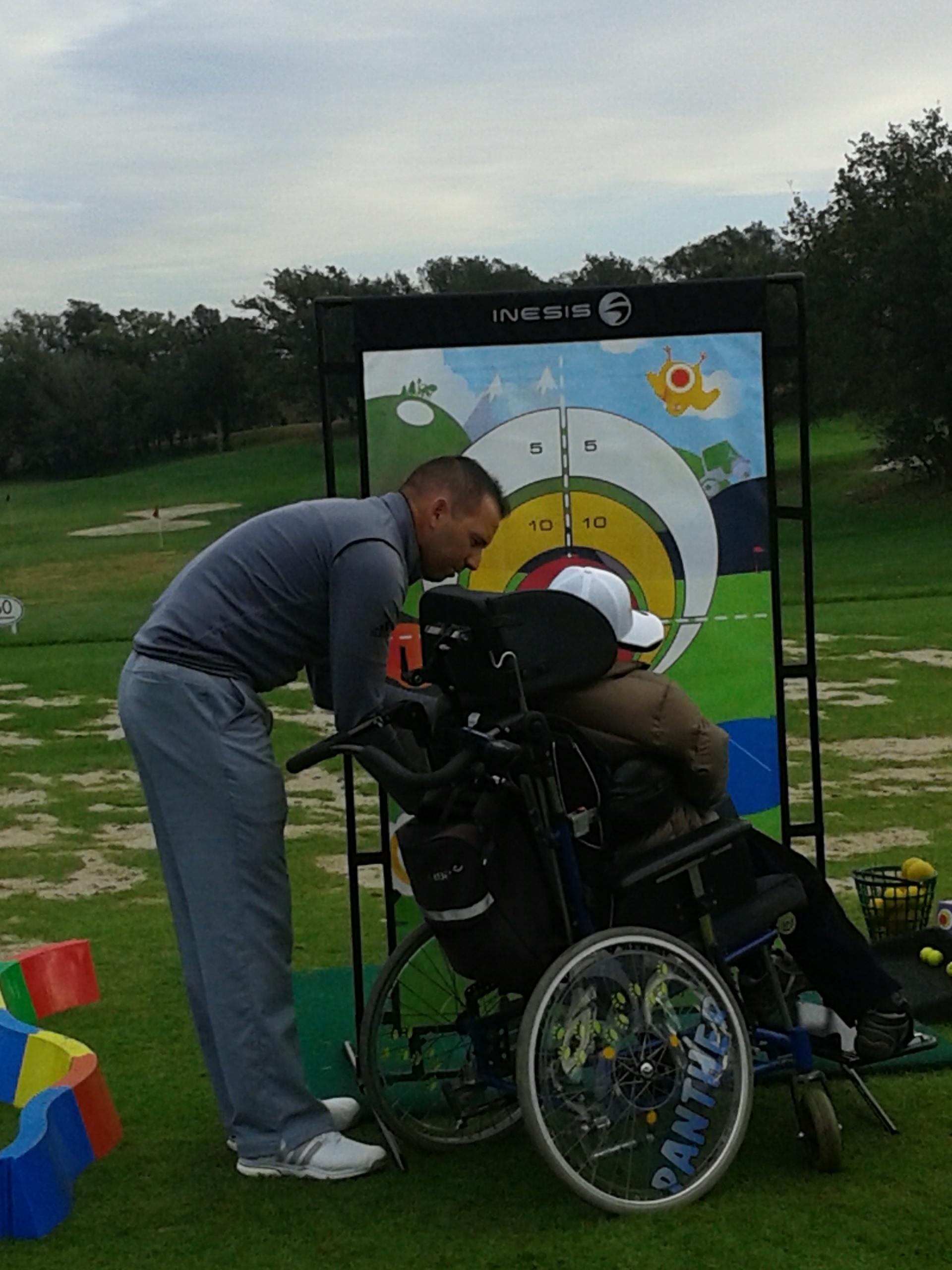 Activitat de golf
